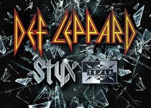 Def Leppard Styx & Tesla