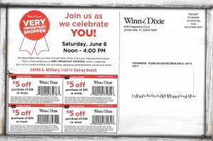 Winn Dixie Mail Coupons