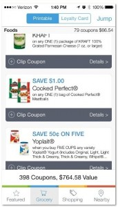 coupons app