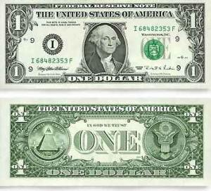 U.S. One Dollar Bill